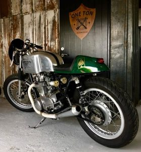 yamaha xs650 The racer
